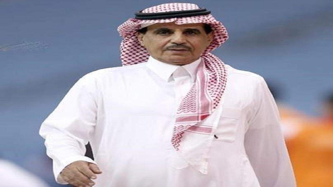 إصابة رئيس النصر السابق فهد المشيقح بمرض خطير