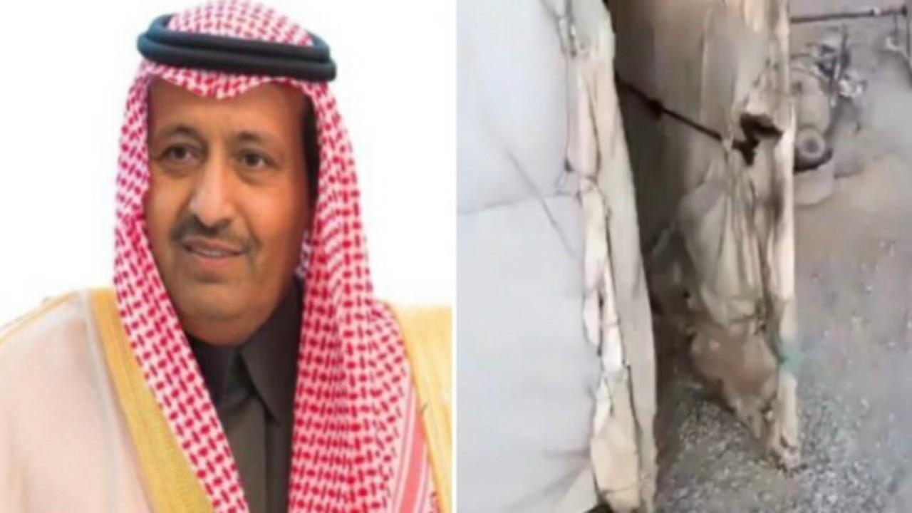 أمير الباحة يوجه بتوفير مسكن لمسنة تعيش في خيمة