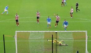 مانشستر سيتي يفوز على شيفيلد في الدوري الإنجليزي