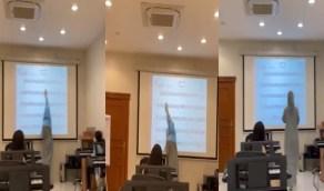 بالفيديو..معلمة تشرح قراءة النوتة الموسيقية بالرياض