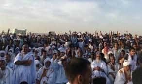 بالصور..مظاهرات تندد بالإساءة للرسول ﷺ في موريتانيا