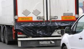 العثور على بقايا جثث متحللة لمهاجرين داخل شاحنة!