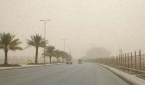 استمرار نشاط الرياح وارتفاع في درجات الحرارة غدًا