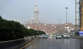 أمطار رعدية على مكة تستمر حتى المساء