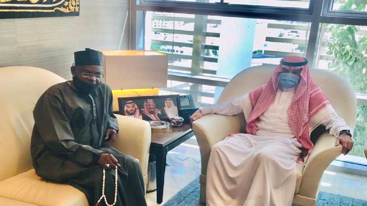 سفير المملكة لدى الأردن يستقبل سفير نيجيريا