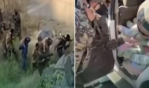 """""""الداخلية"""" تنشر فيديو عملية أمنية لـ """"الأفواج الأمنية"""" بجازان"""