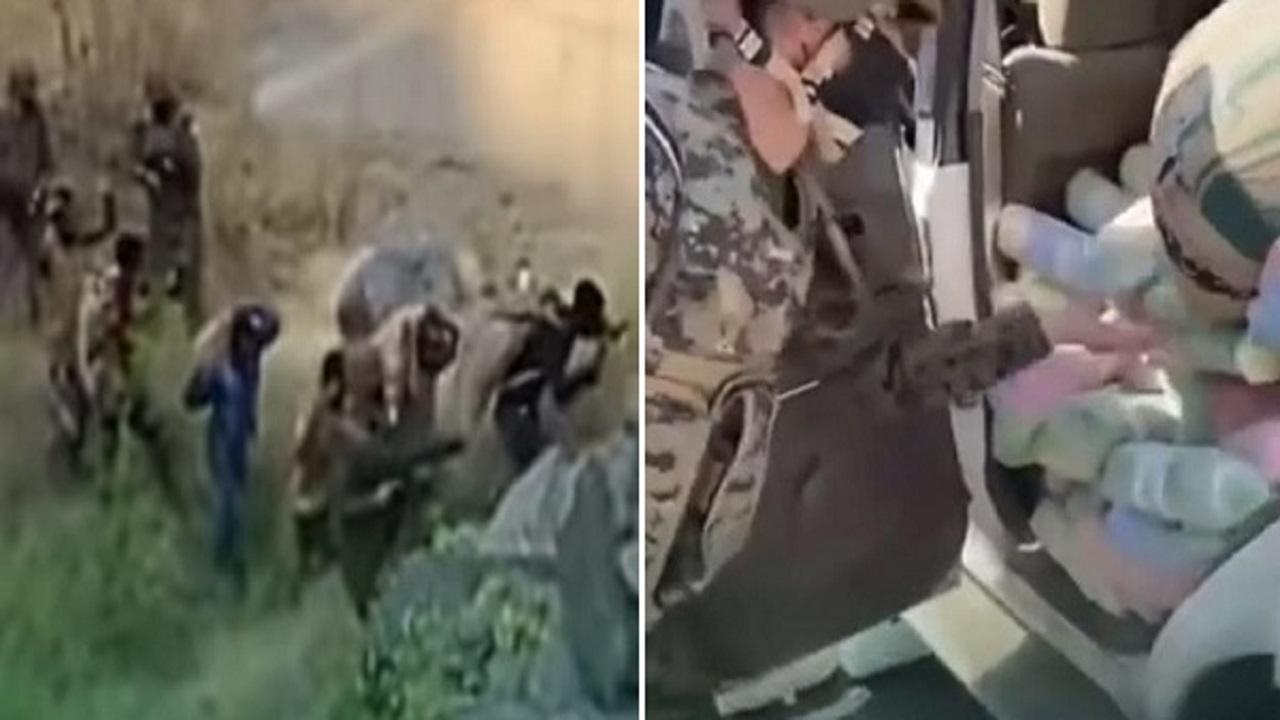 """""""الداخلية"""" تنشر فيديو لإحدى عمليات """"الأفواج الأمنية"""" بجازان"""