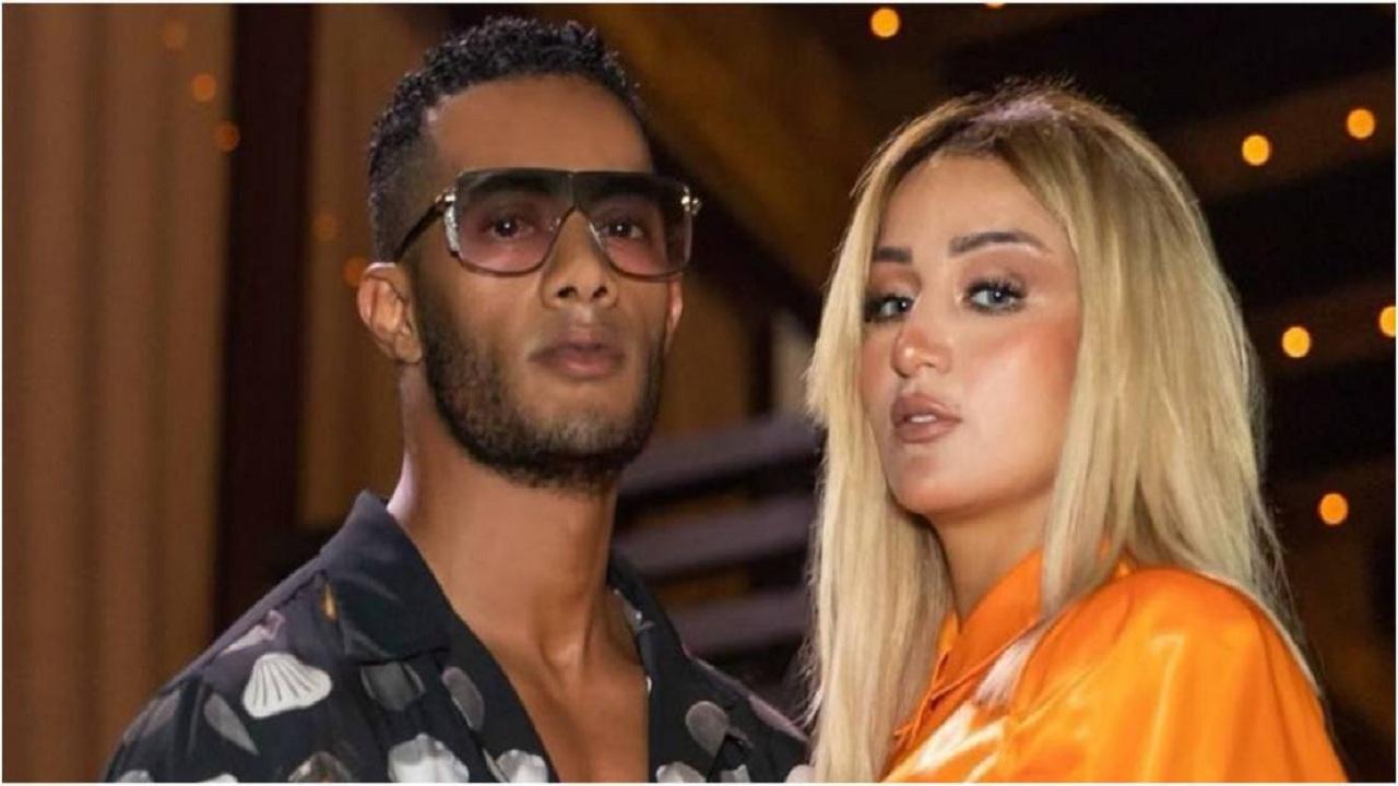 شاهد.. زوجة محمد رمضان تشعل حفله الأخير وترقص على أغانيه