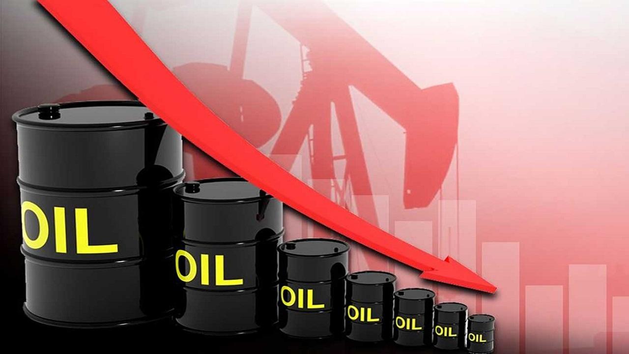 انخفاض سعر النفط بنسبة 4.92 %