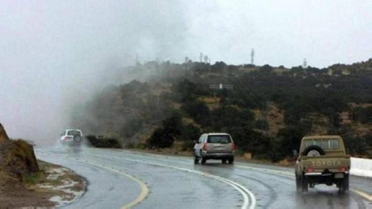 تنبيه بهطول أمطار رعدية على أضم والطائف وميسان والعرضيات