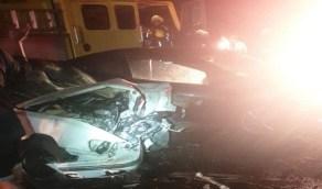 مصرع وإصابة 8 أشخاص في حادث مروع على طريق الجعرانة