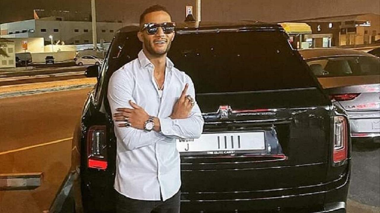 """محمد رمضان يستعرض سيارته الجديدة """" ثمنها 9 مليون """""""