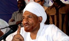 """"""" كورونا """" ينهي حياة رئيس حزب الأمة السوداني الصادق المهدي"""