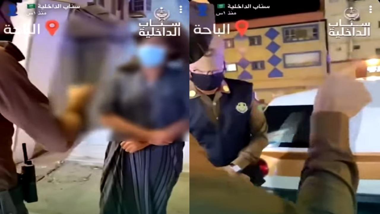 بالفیدیو.. رصد مخالفات الذوق العام في الباحة