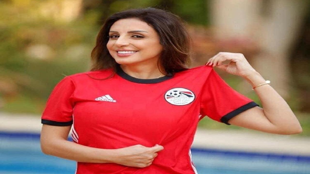 أنغام تحتفل بفوز الأهلي على طريقتها