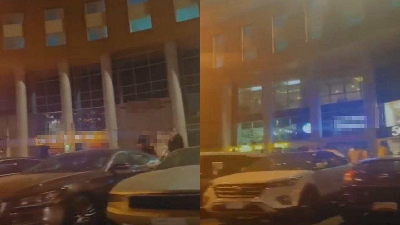 بالفيديو.. فتيات يسخرن من الرجال في شوارع جدة بـ «جعل الرجاجيل للماحي»