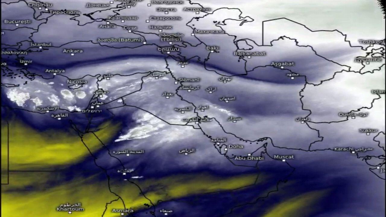 """""""الجهني"""" يتوقع تعمق الكتلة الباردة مع استمرار هطول الأمطار على هذه المناطق"""