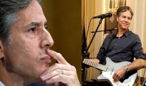 """بالفيديو.. وزير الخارجية في إدارة بايدن """" مغني وعازف جيتار """""""