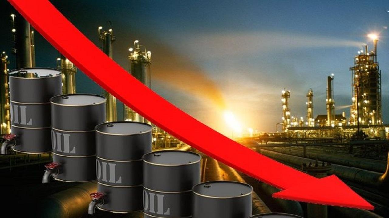 سعر النفط خام ينخفض بنسبة 2.03 %