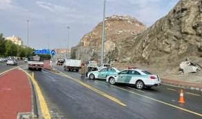مرور العاصمة المقدسة يدعو قائدي المركبات لتوخي الحذر