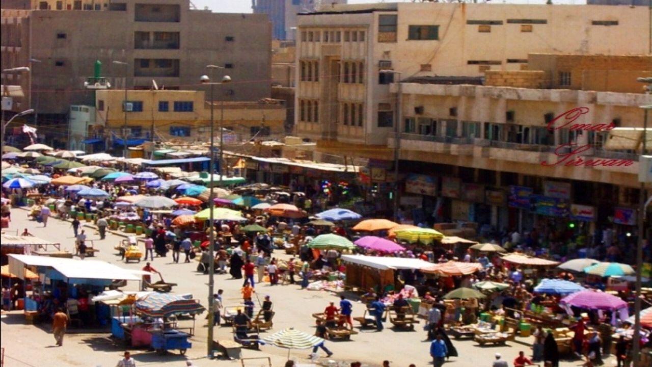 فيديو تاريخي يحكي عراقة سوق بغداد قبل قرن من الزمان
