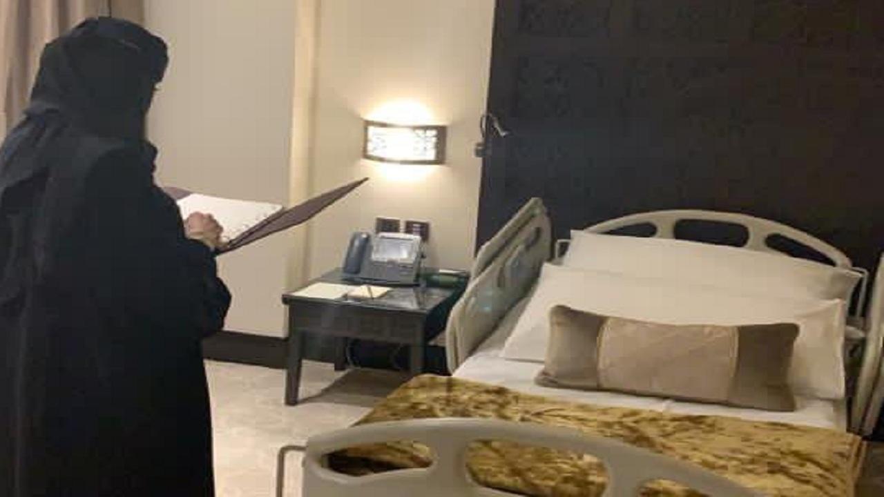 """ضبط فندق يُستخدم كغرف لإيواء مرضى مجمع طبي شهير في الرياض  """"فيديو"""""""