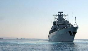 البحرية الألمانية تعترض سفينة تركية محملة بسلاح مهرب لليبيا