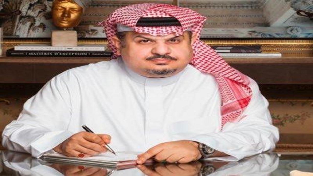 """عبدالرحمن بن مساعد يرد على دعوة """" آل الشيخ"""" بتقديم أمسية شعرية في بداية العام الجديد"""