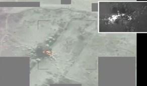 بالفيديو.. لحظة استهداف آليات الميليشيا الإرهابية بمأرب والجوف اليمنية