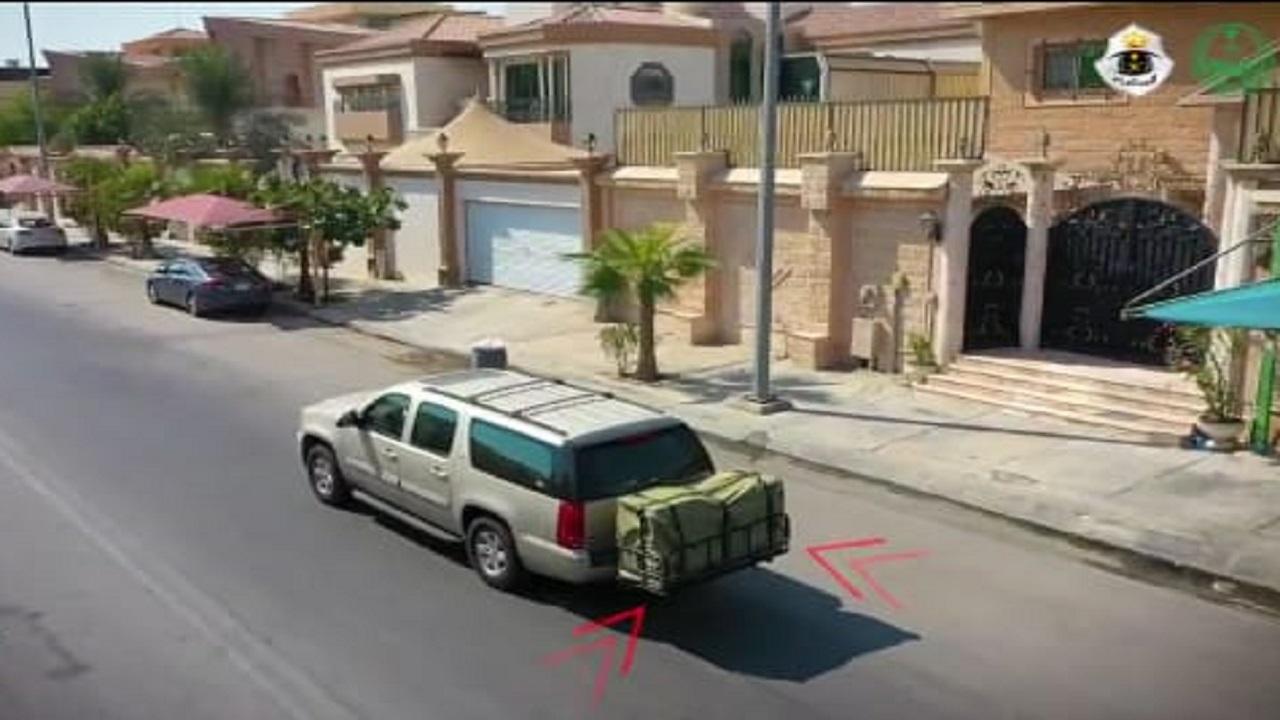 """بالفيديو .. .. """"المرور """" تحذر من السلال الخلفية بالمركبات"""