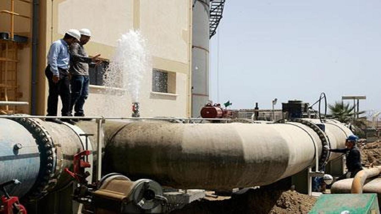 توقف ضخ المياه عن 9 أحياء بجدة