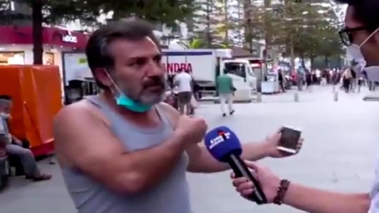 مواطن تركي يهاجم أردوغان : يضحك علينا بتصنيع الطائرات.. وهو لم يصنع حتى دراجة