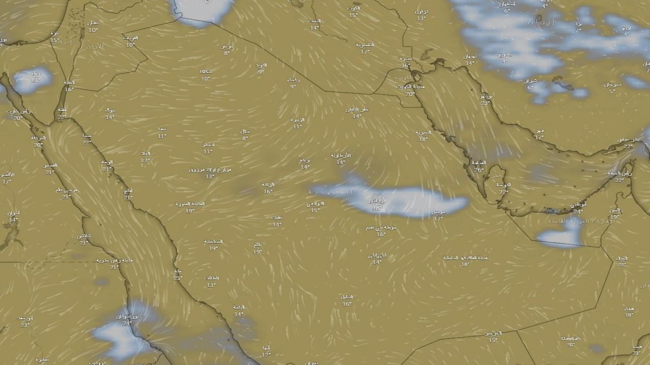 «الحصيني»: انتشار سحب «النفيض» البيضاء على الرياض (صور)