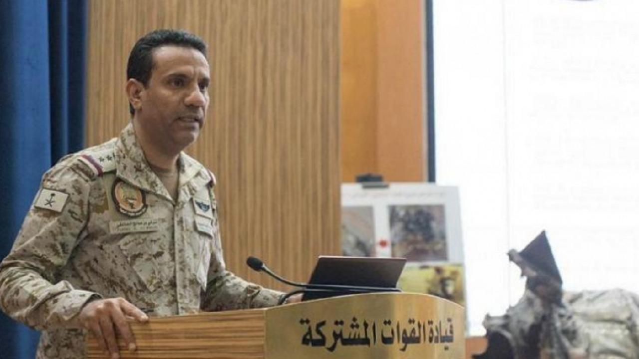 التحالف يدمر طائرة بدون طيار حوثية في سماء اليمن