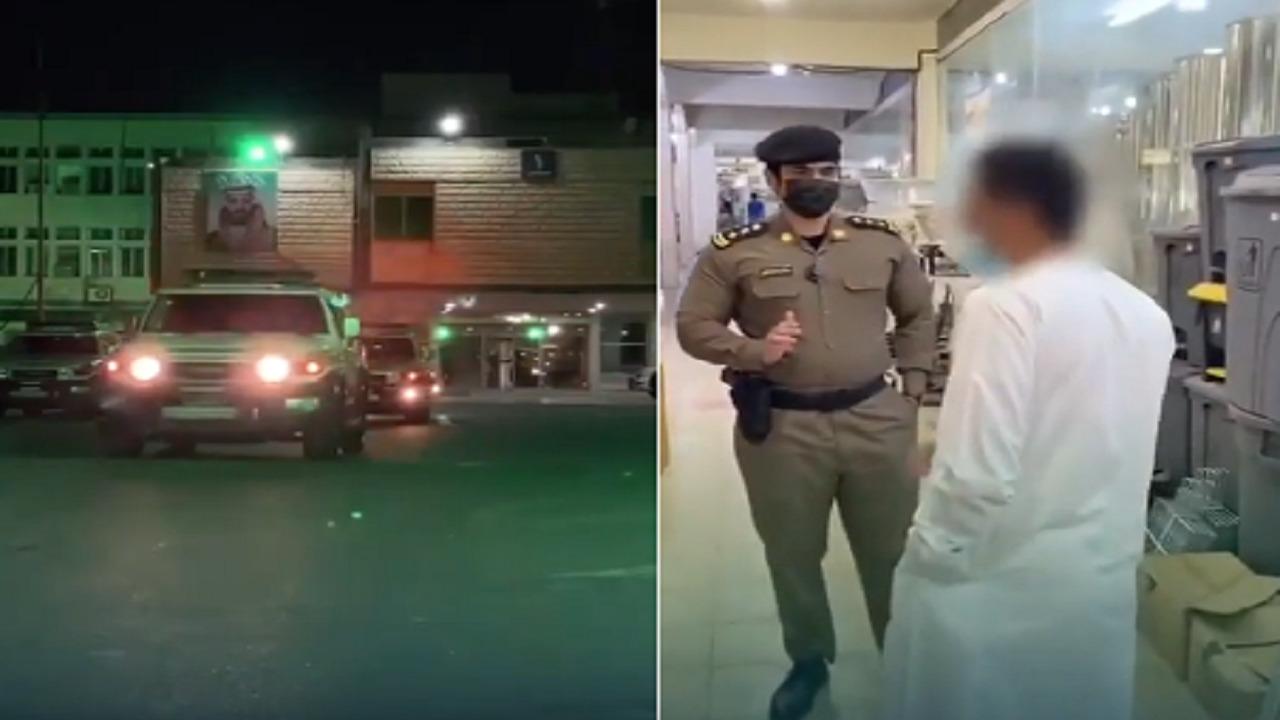 بالفيديو.. ضبط مخالفين للإجراءات الاحترازية والذوق العام في الأحساء