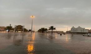 أمطار متوسطة إلى غزيرة وأتربة مثارة على المدينة المنورة
