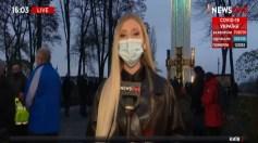 بالفيديو.. لحظة الهجوم على مراسلة تليفزيون أثناء بث مباشر