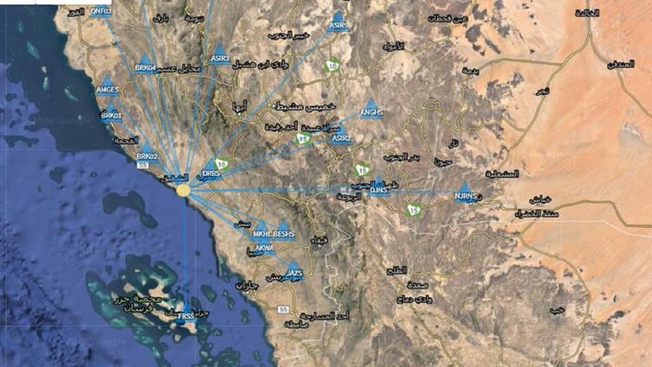 هزة أرضية تضرب جنوب الشقيق والمساحة الجيولوجية تكشف سببها
