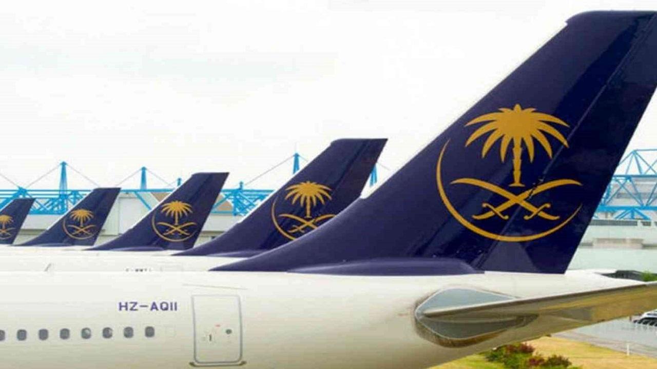 """""""الخطوط السعودية"""" تدعو المسافرين للحضور إلى المطار قبل الموعد بساعتين"""