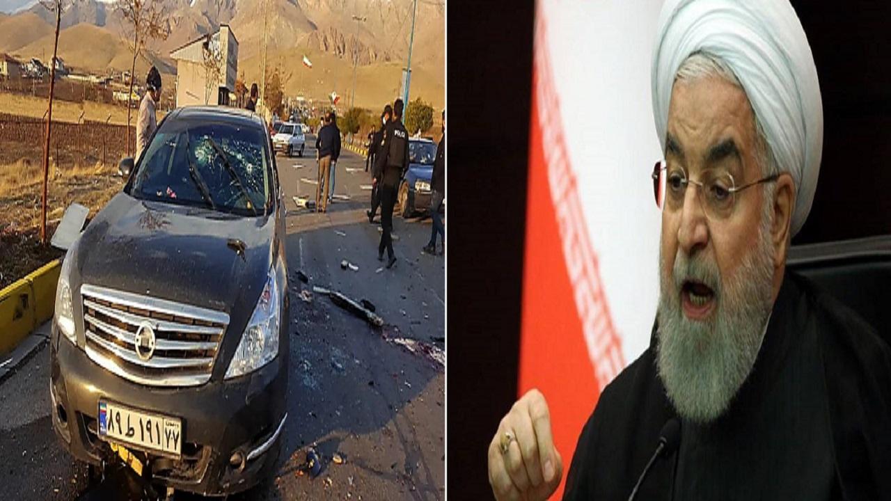 أول تعليق من الرئيس الإيراني على اغتيال العالم النووي زادة