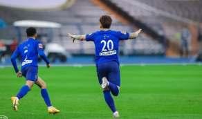 سر ذهاب هيون لمساعد المدرب بعد أول هدف في شباك النصر