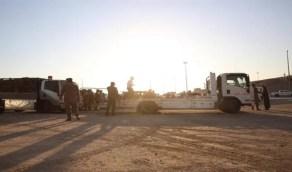أمن الطرق يضبط 181 شاحنة بحمولاتها من الحطب المحلي المعد للبيع