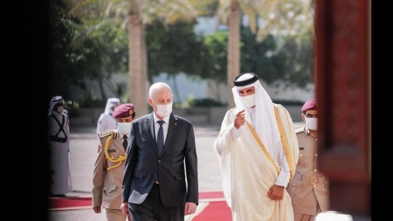 """هدية """" مسمومة """" من قطر للرئيس التونسي"""