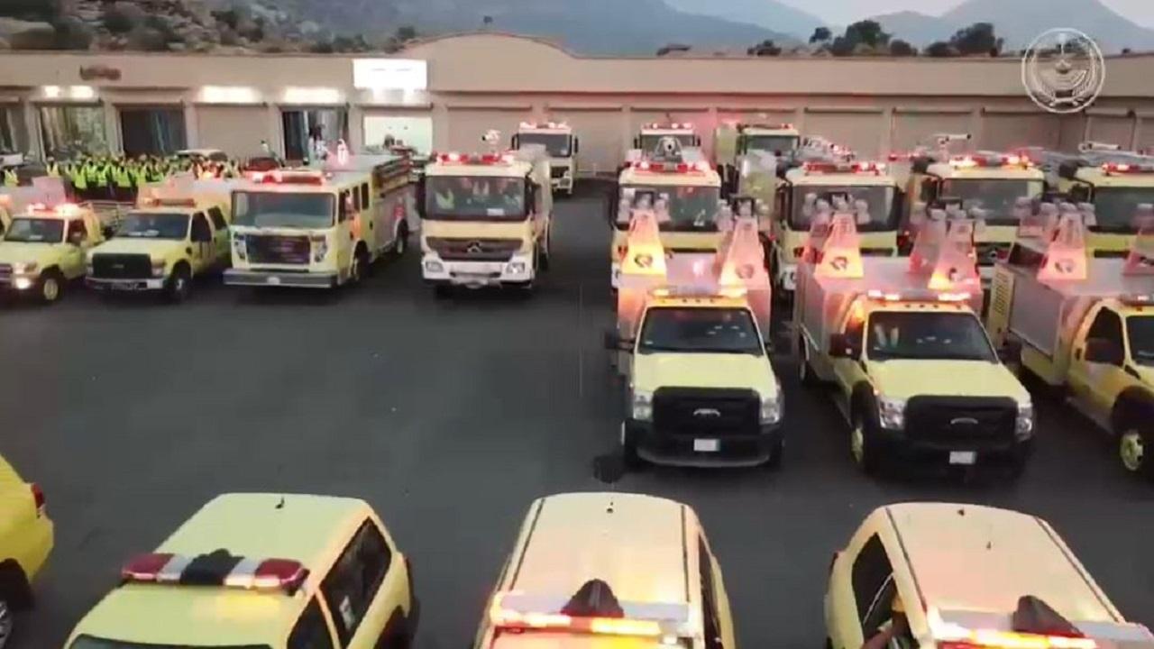 """""""الدفاع المدني"""" باشر أكثر من 92 ألف حادث حريق وعملية إنقاذ خلال عام 1441 هـ"""
