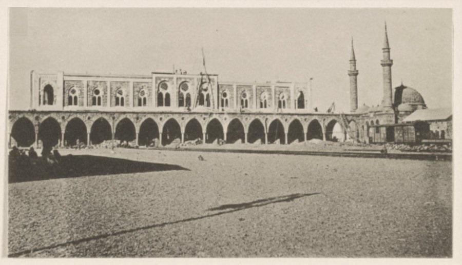 المدينة المنورة.. المحطة المركزية أمام البوابة الغربية