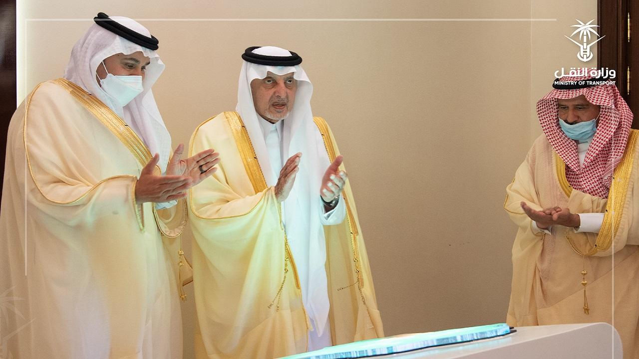 أمير مكة يطلق 8 مشروعات للطرق بمحافظات المنطقة