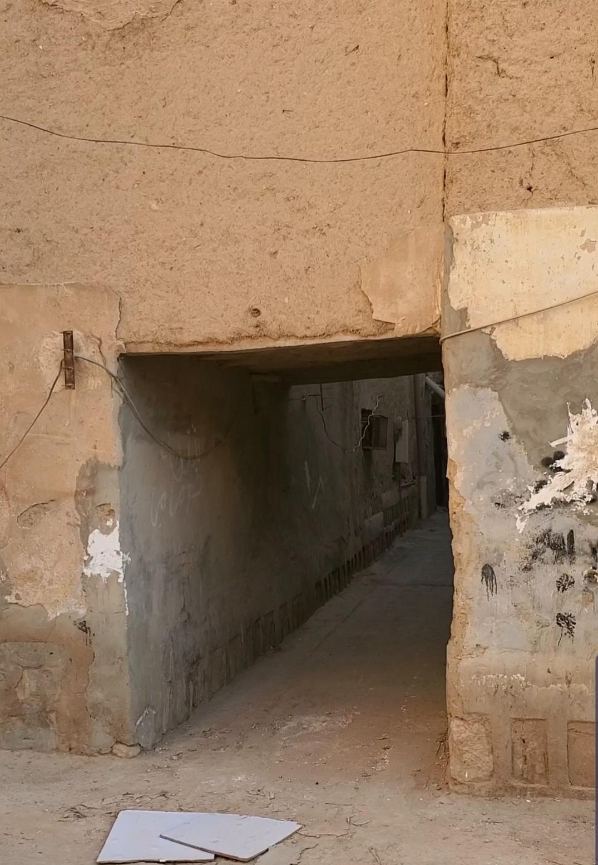 صورة لأحد المجببات في حي الدوبية بالرياض القديمة