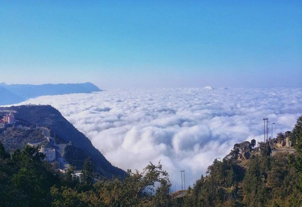 إطلالة من جبل ناصر في محافظة النماص