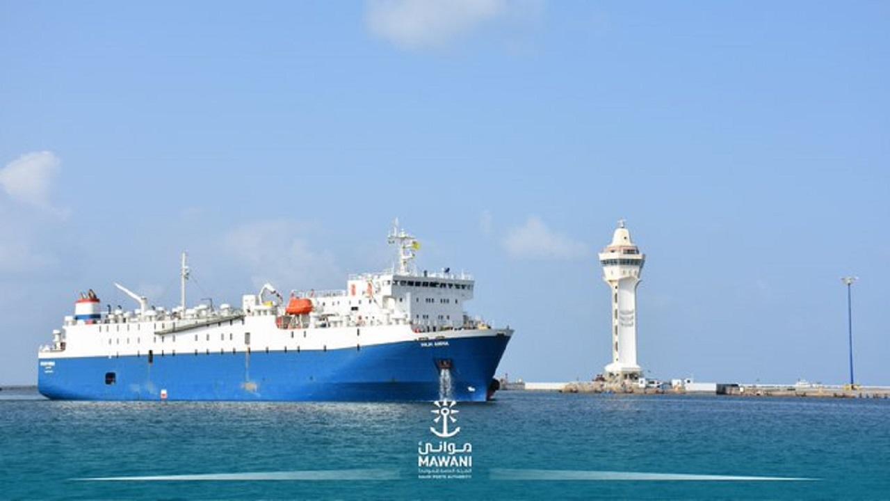 ميناء جازان يستقبل أول شحنة أنعام من البرازيل صحيفة صدى الالكترونية