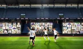 توفير شاشات تفاعلية خلف مرمى الفريقين في نهائي كأس الملك